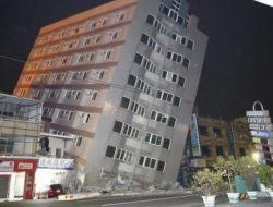 Gempa Guncang Taiwan, Ratusan Orang Terjebak dalam Gedung yang Roboh