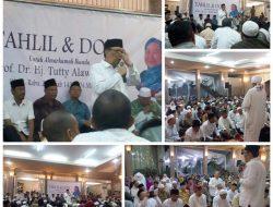 Tahlil dan Doa Nujuh Hari Almh.Prof Hj Tuty Alawiyah AS di Hadiri Ribuan Jamaah
