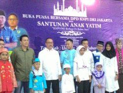 DPD KNPI DKI Jakarta Buka Puasa Bersama dan Pemberian Santunan Anak Yatim