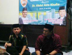 Aziz Khafia: Semua Punya Berpotensi Besar Jadi Pemimpin Jakarta