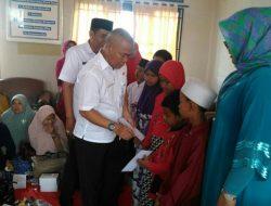 CI I dan II Tak Banjir, Lurah Pedurenan Satuni Anak Yatim