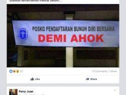 Ajakan Bunuh Diri dan Aksi 20 Mei Untuk Gulingkan Jokowi Diklarifikasi GMKI