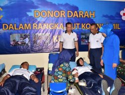 Semarakkan HUT KE-56, KOLINLAMIL Gelar Donor Darah