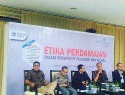 Universitas Paramadina Gelar Seminar Etika Perdamaian (Perspektif Falsafah Dan Agama)
