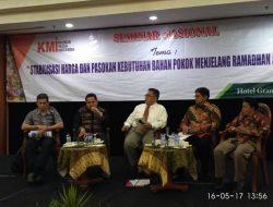 "KMI Gelar Seminar Nasional ""Stabilisasi Harga Jelang Ramadhan dan Idul Fithri 2017"""