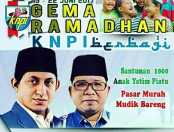 Sambut Ramadhan, KNPI Pusat Akan Gelar Santunan, dan Pasar Murah
