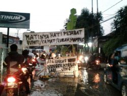 Pemerintah Abai, Jalan Rusak di Bojong Gede Bogor Jadi Viral