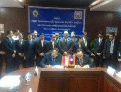 Bahas Audit Berbasis Elektronik, Wakil Ketua BPK RI Pimpin Pertemuan Sambangi SAO Laos