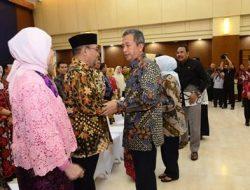 Hari Kedua Masuk Kerja, Pimpinan BPK Gelar Halal Bihalal dengan Keluarga Besar BPK
