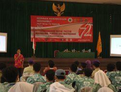 Rangsang Kembali Rasa Kebangsaan, Mahasiswa ISTA dan Pelajar Jakarta Barat Ikuti Seminar Kebangsaan