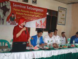 Beri Pemahaman Pemuda Tentang Politik, Lembaga Pandawa Kerjasama Kemendagri Gelar Seminar
