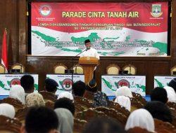 Membuka Acara Parade Cinta Tanah Air, Ini Kata Wagub Banten