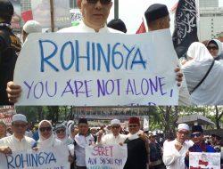 Dari Aksi Solidaritas Untuk Rohingya Hari Ini