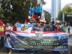 DPP KNPI Gelar Aksi Solidaritas Untuk Rohingnya