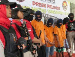Empat Spesialis Jambret di Kota Tangerang, Diamankan Polisi