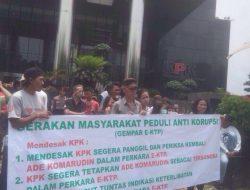 Aksi Gerakan Masyarakat Peduli Anti Korupsi (GEMPAR E-KTP )