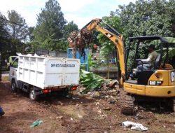 Sampah Di Tangsel Masih Banyak, Camat dan Danramil 19 Pondok Aren Turun Tangan