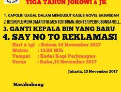 KMII: Kabinet Kerja Jokowi Banyak Yang Gagal