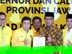 Punya Hubungan Khusus Dengan Setnov, Kang Emil Didukung Golkar Maju Pilgub Jabar