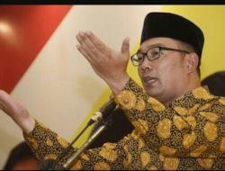 PDIP: Dukungan Golkar Untuk Ridwan Kamil di Pilkada Jabar Bisa Berubah
