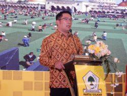 Hadiri Acara Golkar, Ridwan Kamil Berbagi Pengalaman E-Badgeting Kota Bandung