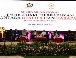 Gelar Seminar Energi Baru dan Terbarukan di Indonesia, BPK Rekomendasikan Pemerintah Untuk Lakukan Perbaikan Kebijakan