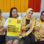 Perempuan Golkar Komitmen, Mendorong Kemajuan Perempuan