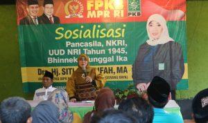 Siti Masrifah: Empat Pilar Kebangsaan Sangat Maslaha Untuk Bangsa !