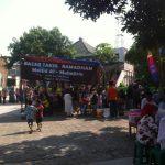 Masjid Al- Muhajirin Menyambut Ramadhan Gelar Bazar & Baksos