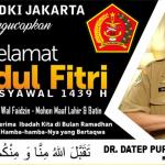 DPP IARMI Jakarta Mengucapkan Selamat Hari Raya Idul Fitri 1 Syawal 1439 H