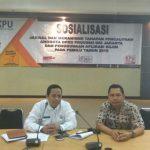 Bawaslu DKI Sosialisasikan Jadwal Dan Mekanisme Tahapan Pencalonan Anggota DPRD DKI