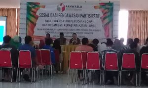 Panwaslu Pangandaran, Gelar Sosialisasi Pengawasan Partisipatit