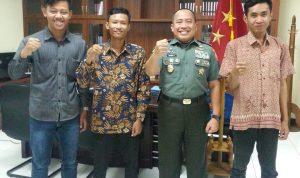 Mahasiswa Pati Gelar Silaturahmi Dengan TNI