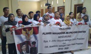 Mahasiswa Se Banten, Siap Dorong Moeldoko Jadi Cawapres Jokowi