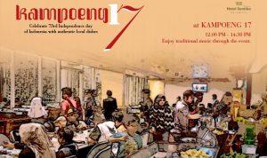Sambut Hari Kemerdekaan Ke-73, Hotel Santika Premiere ICE-BSD Semarakan 'Kampoeng 17'