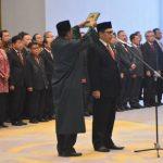 Resmi Diangkat Anggota BPK ,Agus Joko Pramono Ucapkan Sumpah Jabatan