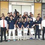 Tiga Puluh Sembilan Anggota Sat Reskrim dan Unit Reskrim Polsek Cisauk Mendapat Reword dari Kapolres Tangsel