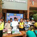 Unit Reskrim Polsek Pamulang berhasil mengungkap kasus Tindak Pidana Pencurian dengan Pemberatan yang terjadi di Toko Aqila