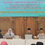 Memperkokoh 4 Pilar Kebangsaan Yang Hubbul Wathan Minal Iman, MUI Tangsel Gelar Halaqoh Ulama