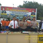 Polres Indramayu Berhasil Ungkap Kasus Pencurian, Sebanyak 15 Unit Kendaraan Disita Sebagai Barang Bukti