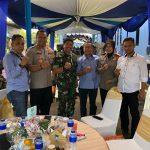 Kebersamaan TNI/POLRI ( Polsek Cisauk ) dalam HUT Bravo Ke 29 di Sat Bravo Rumpin Bogor