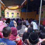 Peduli Masyarakat, Kolaborasi Caleg Kota, Provinsi dan DPR RI Dari Partai Golkar Gelar Baksos di Depok