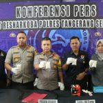 Kepolisian Polsek Cisauk Berhasil Menangkap Pelaku Pemilik 4 ( Empat ) Bungkus Narkotika Jenis Shabu