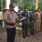 Unsur terkait Tiga Pilar Kecamatan Setu Apel Gelar Pasukan Pengamanan Pemilu 2019