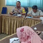 Menyambut Bulan Suci Ramadhan 1440 H/2019 M, Polsek Cisauk Bersama Camat Setu Gelar Rapat Koordinasi
