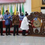 Lomba Cerdas Cermat Lingkup Kemendagri dan BNPP Resmi Dibuka Megawati