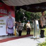 Dalam Rangka Cooling System, Polres Tangerang Selatan mengadakan kegiatan Bakti Sosial Dan Bakti Kesehatan,