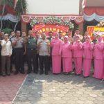 Komandan Koramil Ciputat Berikan Ucapan Selamat kepada Kapolsek Pamulang pada HUT Bhayangkara Ke 73