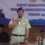 Erwin H Al Jakartaty Wakili Dankonas Menwa Indonesia Menutup Rakomda VII Menwa Jakarta 2019