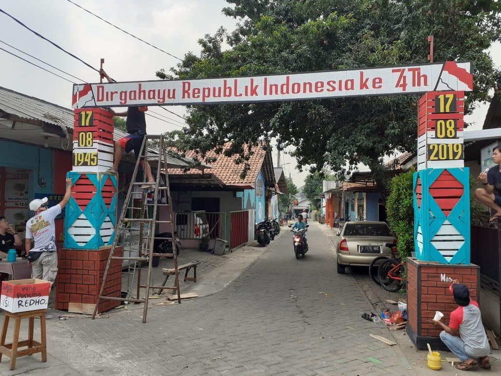Hut Ri Ke 74 Karang Taruna Lengkong Gudang Gelar Lomba Kicaunews